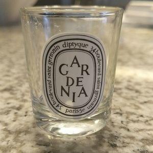 Diptyque Gardenia Candle empty mini 1.23oz